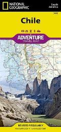 National Geographic Adventure Map||||Chile