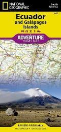 Ecuador & Galapagos Adventure Maps
