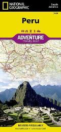 National Geographic Adventure Map||||Peru