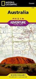 National Geographic Adventure Map||||Australia