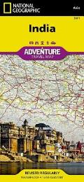 National Geographic Adventure Map||||India