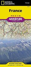 National Geographic Adventure Map||||France