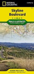 National Geographic Trails Illustrated Map    Skyline Boulevard