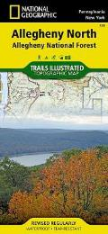 National Geographic Trails Illustrated Map||||Allegheny North [Allegheny National Forest]