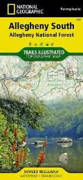 National Geographic Trails Illustrated Map||||Allegheny South [Allegheny National Forest]