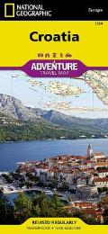 National Geographic Adventure Map||||Croatia