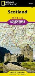 National Geographic Adventure Map||||Scotland