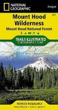 Mount Hood Wilderness Map