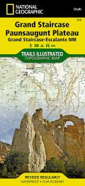 National Geographic Trails Illustrated Map    Grand Staircase, Paunsaugunt Plateau [Grand Staircase-Escalante National Monument]
