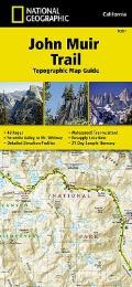 John Muir Trail Topographic Map Guide