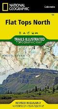 National Geographic Trails Illustrated Map||||Flat Tops North