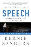 The Speech: On Corporate Greed...