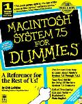Macintosh system 7.5 for dummies