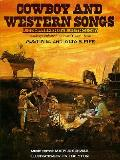Cowboy & Western Songs A Comprehensive