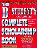 B Students Or Lower Complete Scholarsh