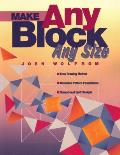 Make Any Block Any Size Easy Drawing M