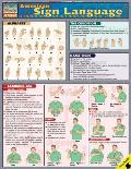 American Sign Language Laminated Reference