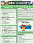 Getting Out of Debt Laminate Reference Chart