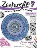 Zentangle 7 Expanded Workbook Edition Inspiring Circles Zendalas & Shapes