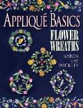 Applique Basics Flower Wreaths