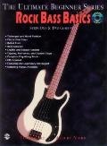 Ultimate Beginner Rock Bass Basics: Steps One & Two, Book & CD [With CD]