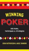 Winning Poker 200 Rules Techniques & Strategies
