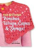 Knit & Crochet Ponchos Wraps Capes & Shrugs