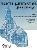 Bach Chorales for Strings (28 Chorales): For String Bass