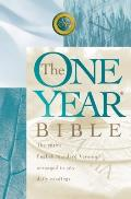 Bible ESV One Year Bible The Entire English Standard Version Arranged In 365 Daily Readings