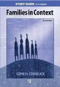 Families in Context -study Guide (2ND 06 Edition)