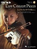 Easy Concert Pieces for Violin & Orchestra [With CD (Audio)]