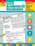Daily Academic Vocabulary Grade 3 [With Transparencies]