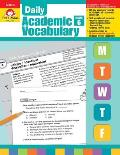Daily Academic Vocabulary Grade 6+ [With Transparencies]