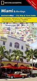 National Geographic Destination City Map||||Miami and the Keys