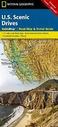 US Scenic Drives Guidemap