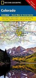 National Geographic GuideMap Colorado