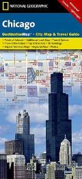 National Geographic Destination City Map||||Chicago