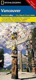 National Geographic Destination City Map||||Vancouver