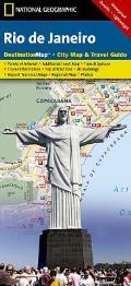 National Geographic Destination City Map||||Rio de Janeiro