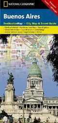 National Geographic Destination City Map||||Buenos Aires