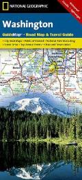 National Geographic Guide Map||||Washington