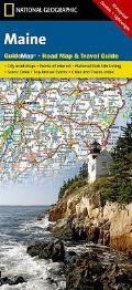 Maine Guide Map