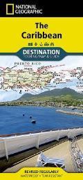National Geographic Destination Map||||Caribbean