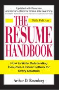Resume Handbook How to Write Outstanding Resumes & Cover Letters for Every Situation