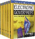 Electronic government; concepts, methodologies, tools and applications; 6v