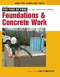 Foundations & Concrete Work Revised & Updated