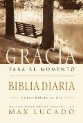 Biblia Gracia Para el Momento-OS: Pasa 365 Dias Leyendo la Biblia Con Max Lucado