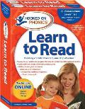 Hooked on Phonics Learn to Read, Pre-K, Levels 1 & 2 [With Workbook and Flash Cards and DVD and Storybooks, Quick Start Guide]
