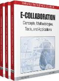 E-Collaboration: Concepts, Methodologies, Tools, and Applications