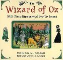 Wizard of Oz with Three Dimensional Pop Up Scenes